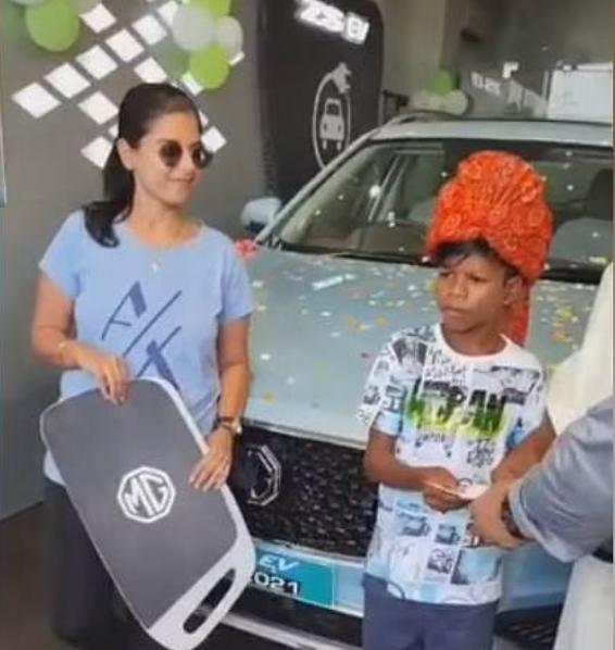 बचपन का प्यार' गाने वाले सहदेव को क्या MG ने गिफ्ट की है 23 लाख की कार? जाने क्या है इस खबर की सच्चाई... » द खबरीलाल